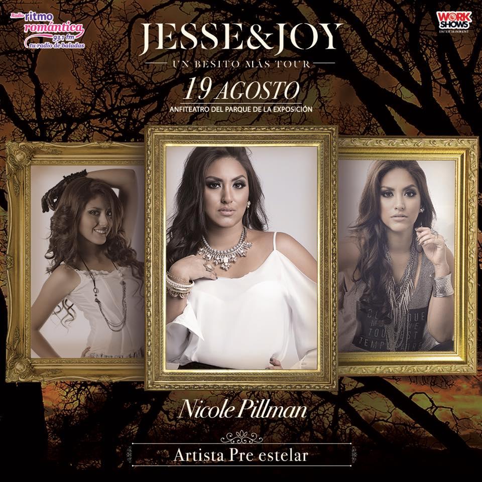 Nicole Pillman Artista Invitada – Jesse & Joy en Lima