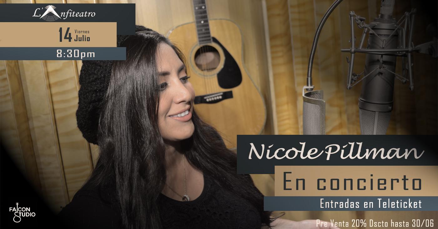 Nicole Pillman en Concierto L´Anfiteatro Antica de Barranco