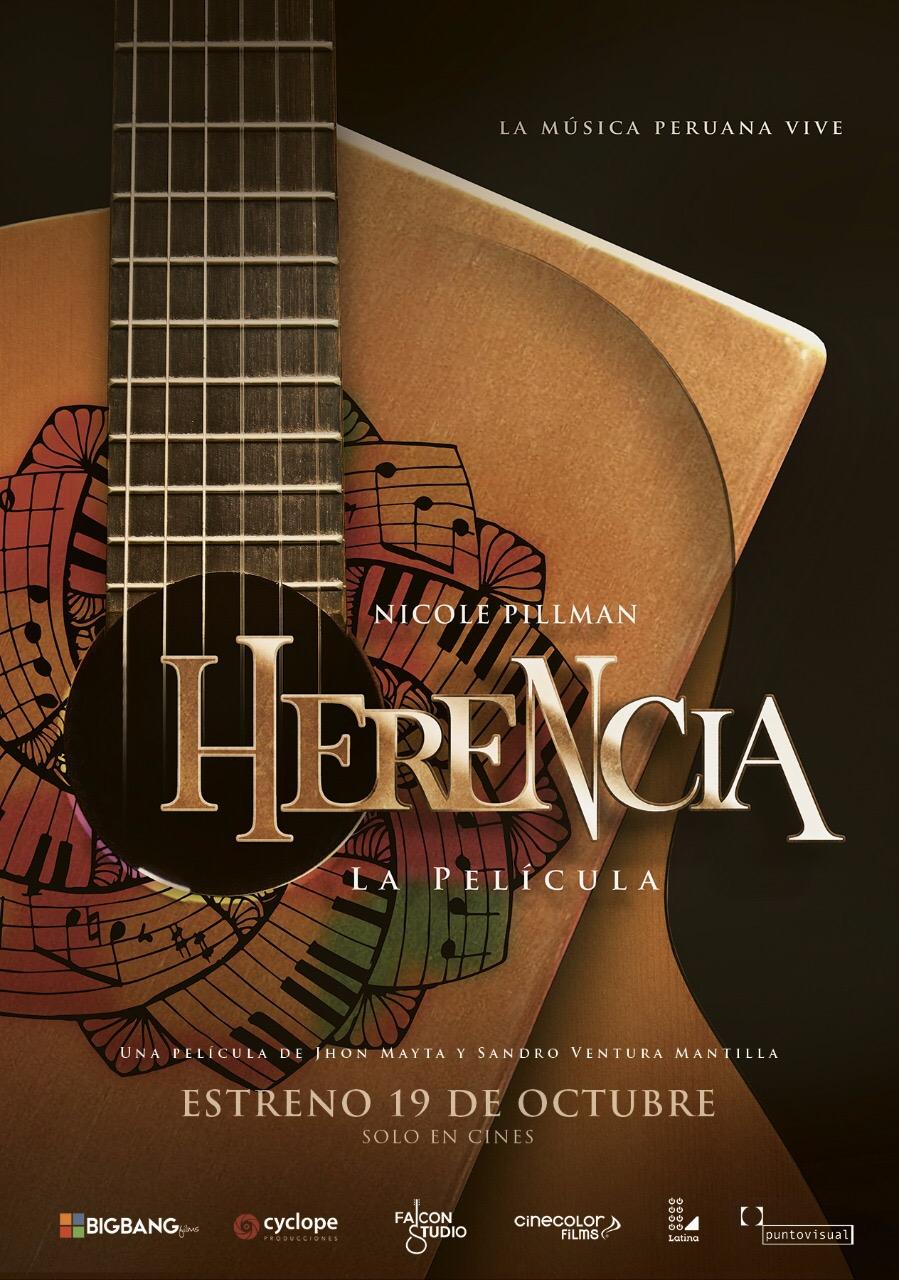 Afiche Oficial #HerenciaLaPelícula